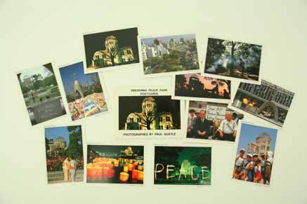 Hiroshima Peace Park postcards