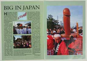 Fertility Phallic Big penis Geographical JapanFestival