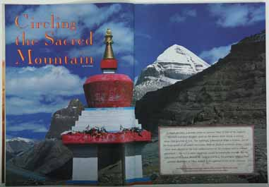 Mount Kailash sacred holy mountain circling circumambulation Tibet